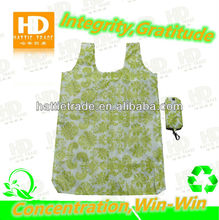 flower printing foldable shopping bags