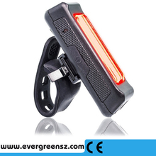 Easy to install and not need any tool Install usb bicycle bike taillight
