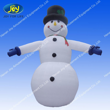 2014 Christmas advertising inflatable cartoon snowman for sale