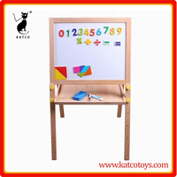 Double sided kids Magnetic drawing board