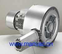 Dongguang 550w 2 stage CE Standard Hospital Tube Conveying System Regenerative Air Blower