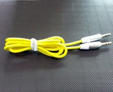 3.5mm de nylon trenzado de cable de audio