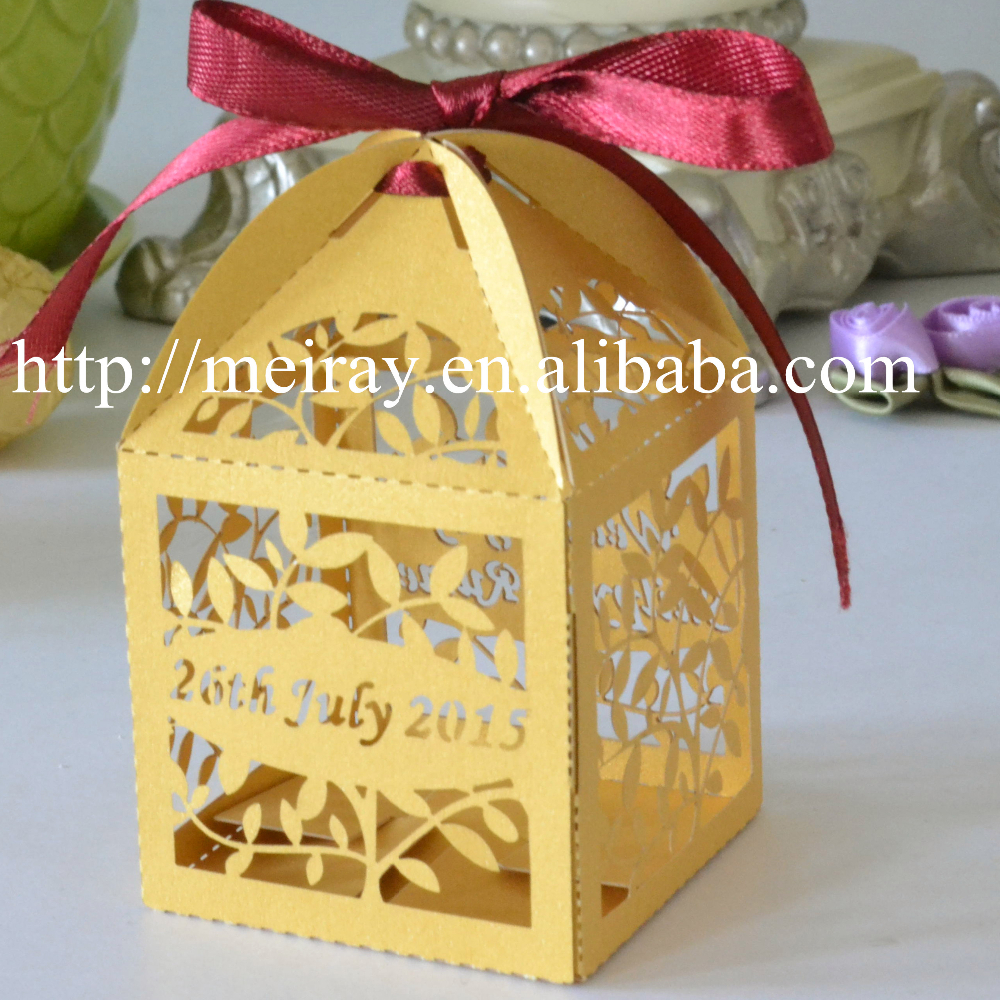 Indian Wedding Gift Bags For Guests : leaves