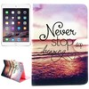 Creative Design Flip Leather Case for iPad Mini 3 with Card Slots
