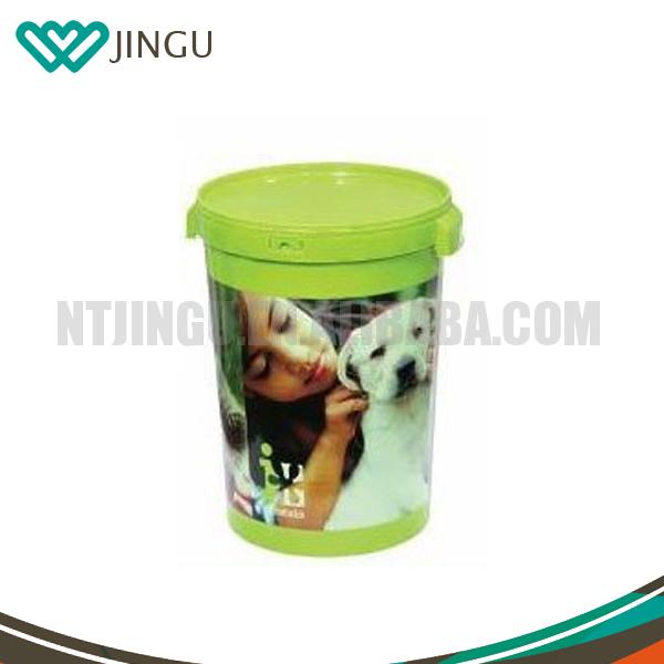 Decorative Dog Cat Food Containters