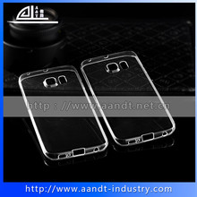 Top seller cellphone accessories clear Rubber frame shell for Samsung