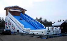 Toboggan Run inflatable slide giant snow slide, giant snow tubing slide, inflatable Toboggan Run giant slide