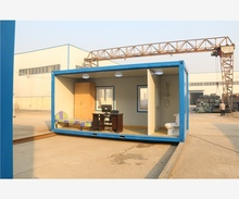 Nice Appearance movable prefab combined low cost 20ft container house