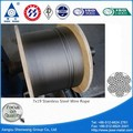 7 x 19 cable de acero inoxidable