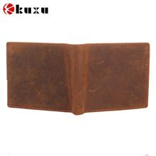 Popular unisex leather travel wallets genunie leather wallet purse