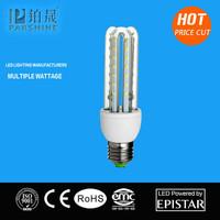 New products for 2016 8W led corn lamp 3u shape led light E27 B22 led 2835 smd led
