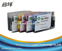 932 933 Refill ink cartridge for HP Officejet 6100 6600 6700 7110 7610 printer with reset chip