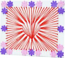 DIY EVA lacing crafts used in table furnishing