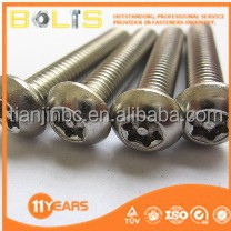 stainless steel torx anti-theft bolts screw m16