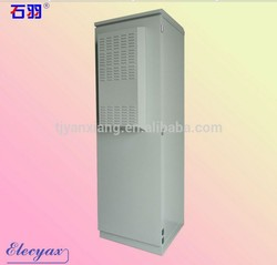 SPCC ventilation telecom server rack/outdoor distribution cabinet with 19'' rack SK345