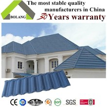 stone coated roofing sheet metal roof tile 1340mm length