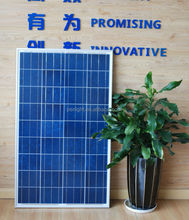Top supplier high efficiency 12v 90w poly solar panel for led light