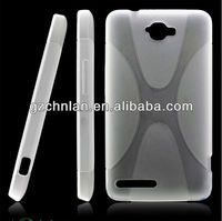 Hot selling perfect fitting durable x design tpu case for alcatel one touch scribe easy OT8000