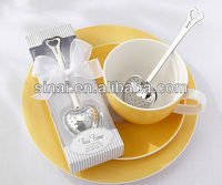 Tea Time Heart Tea Infuser Wedding Giveaways