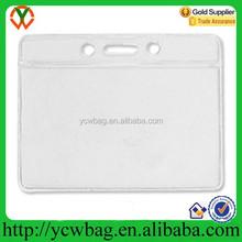 Clear vinyl card holder,vinyl business card holder