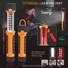 portable fluorescent rechargeable led magnetic work light