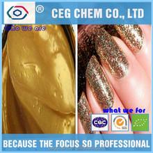 good quality golden pigment cream shape designed for nail polish use