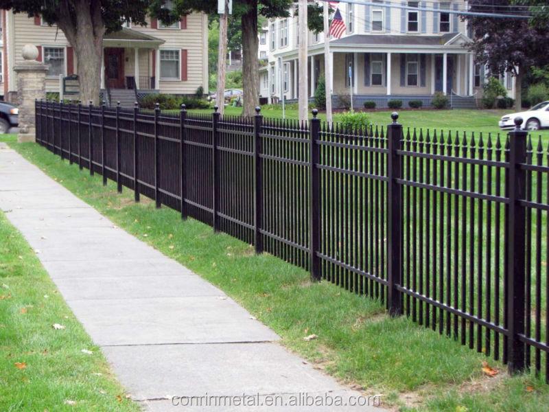No Dig Garden Fence Galvanized Iron Fence Prices