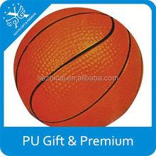 toy stress ball supplying Multicolored Mini Basket stress ball anti pu stress ball