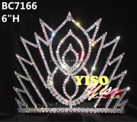 wholesale bulk princess rhinestone pageant crowns and tiaras