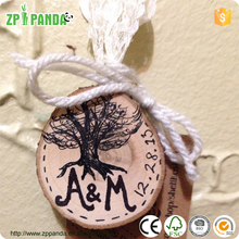 2015 New Designed Customize Christmas tree decoration home decor handicraft printed your own name