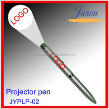 Promotional pen with led light ,high quality projector indelible ink pens