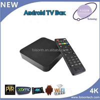High-end quad core android tv box, S805 android smart tv box, H. 265 android media player