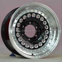 Silver Aluminum alloy wheels rim 15/16 inch for wholesale