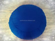 high-quality Circular pillow ,Seat Cushion Yoga cushion ,-blue- bedding set