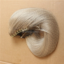 synthetic blonde hair New fashion style holder hair extension