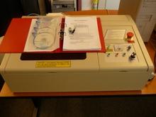 Rabbit,HX-40A,máquina láser para sellos