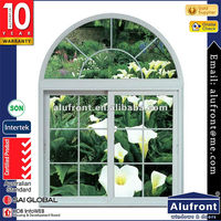 Made in Guangzhou / Double glass Australia standard pvc sliding window