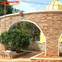 lows modern artificial garden decorative brown landscaping stones