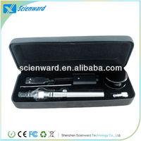 2013 hot sale wax vaporizer atomizer wax-T glass oil dome globe rig set vapor globe atomizer for dry herb/wax ego atomizer