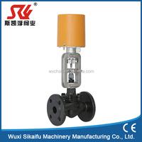 three way electric control valve