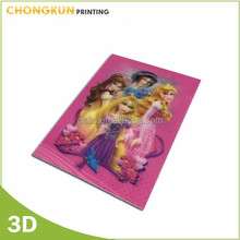 Cartoon Lenticular 3d postcard wholesale