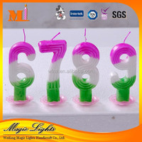 Wholesale Excellent Birthday Number Candle