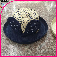 2015 promotional New women party fashion and new style handmade straw hat