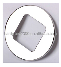 stainless steel glass spigot cover plate