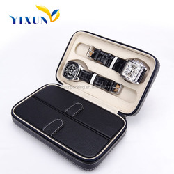 Hot sell high quality handmade custom leather watch packaging box