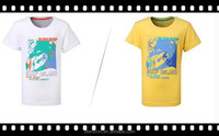 High Quality 2015 Design Printing Colorful Wholesale Cotton Plain Boy Summer Clothes