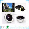 Magnetic 0.2x 190 degree super Fisheye lens for iphone or mobilephone or digital camera lens