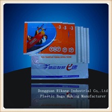 Biodegradable plastic document pouches for shipping company