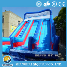 China inflatable toys water slide mat/water slide material/water slide inflatable for kids or adult