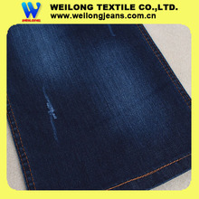 B2137A-S 160cm big width dark blue cotton lycra denim fabric abaya jeans in bolivia